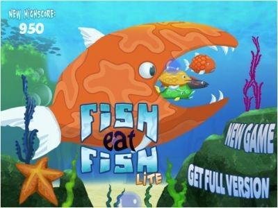 'Fish Eat Fish' iPad app