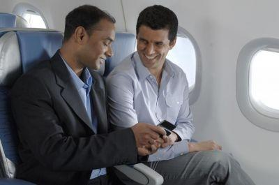 The EgyptAir system, provided by OnAir, allows passengers to use mobile phones and wifi in flight.