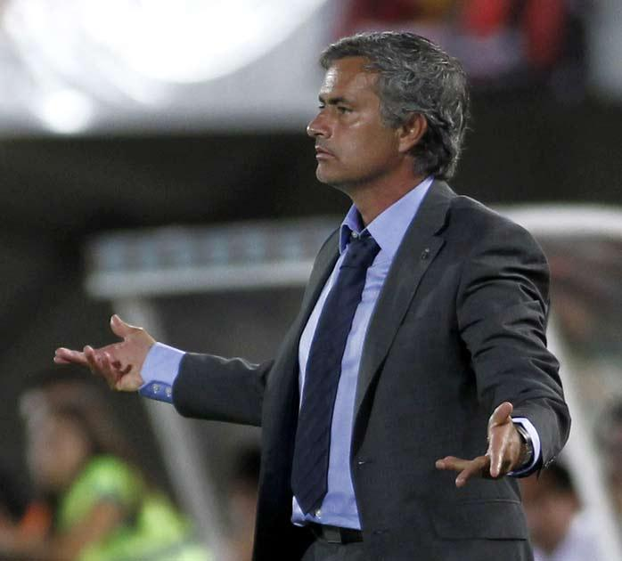 Mourinho saw his team draw 0-0 in their opening league match