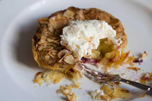 Blackberry Bakewell pudding is a take on the famous Bakewell pudding - not to be confused with the Bakewell tart