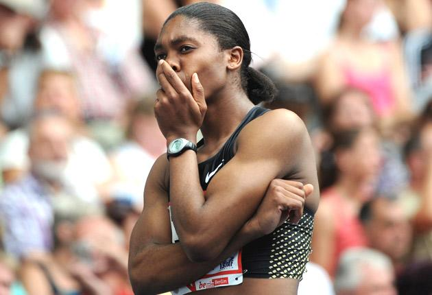 Caster Semenya only managed to finish ninth at the Palio della Quercia in Rovereto