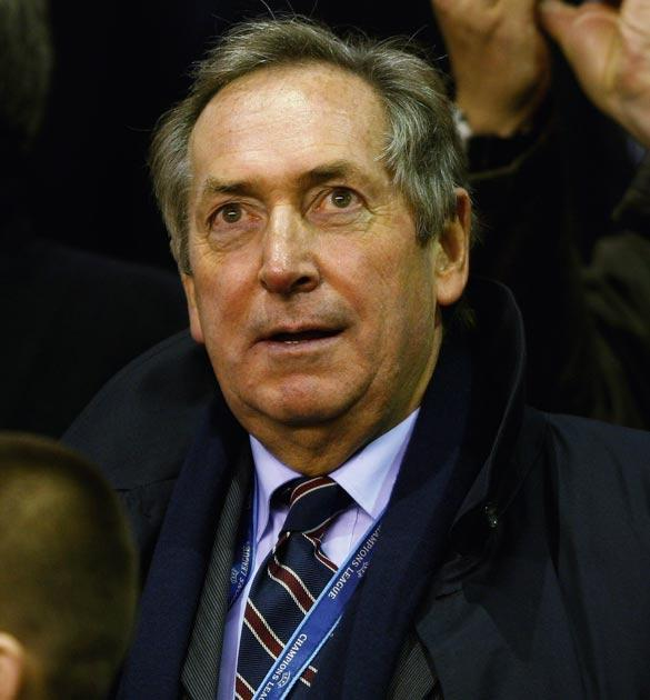 Gerard Houllier used to manage Liverpool