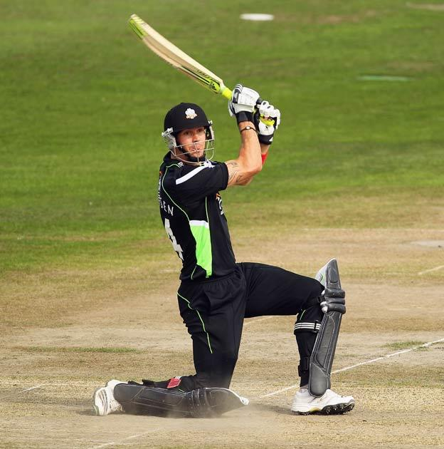 Pietersen responded to being dropped in the best possible way