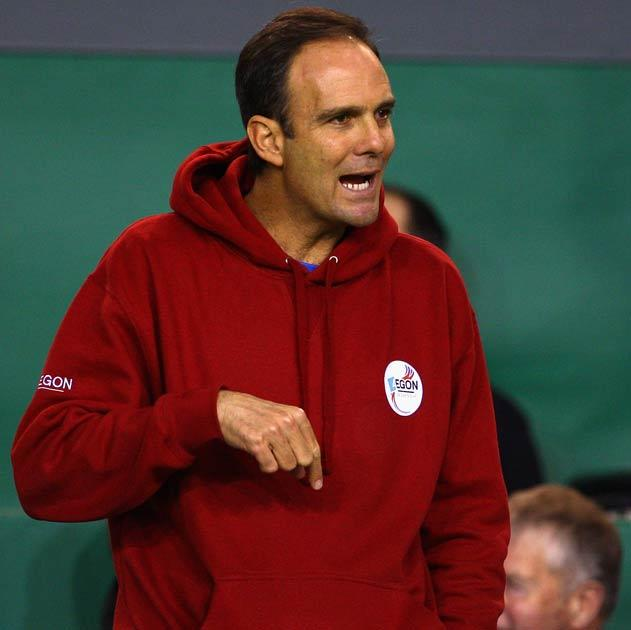 Annacone has joined Federer's coaching staff