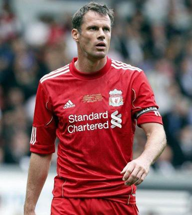 Liverpool's Jamie Carragher says he never kept alcohol at home