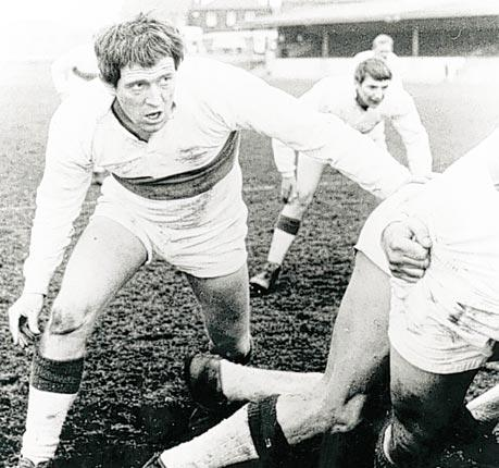 Richard Harris' Frank Machin gets his knees dirty in Lindsay Anderson's 1963 film This Sporting Life