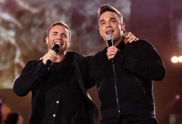 Back for good: Gary and Robbie