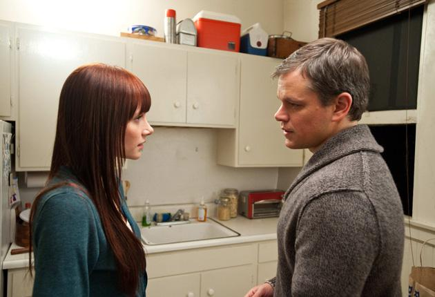 "Bryce Dallas Howard, left, and Matt Damon in ""Hereafter."""