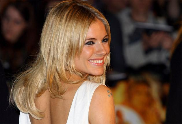 Sienna Miller noticed a number of unread messages were marked as 'old'