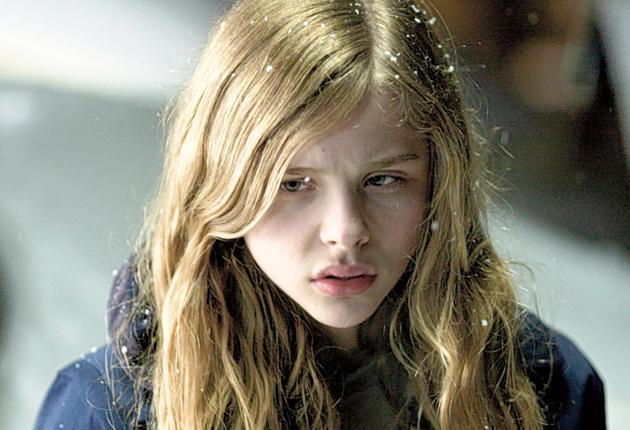 Girl-next-door with a difference: Chloe Moretz in 'Let Me In'