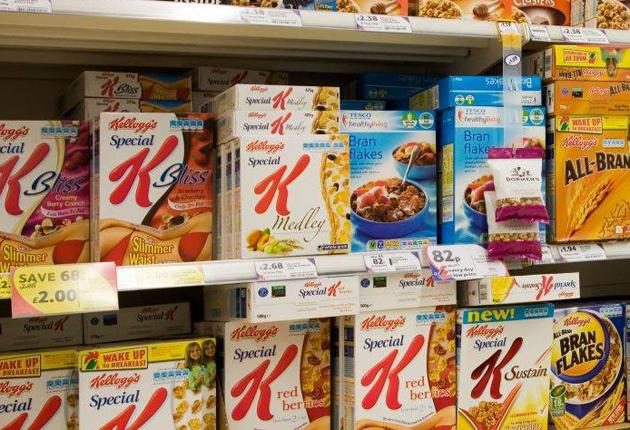 Sainsbury's announced plans to cut packaging by moving breakfast cereals from boxes into bags