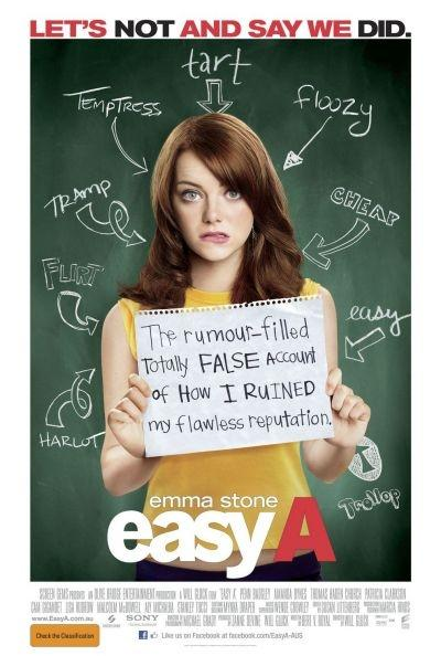 'Easy A' movie poster