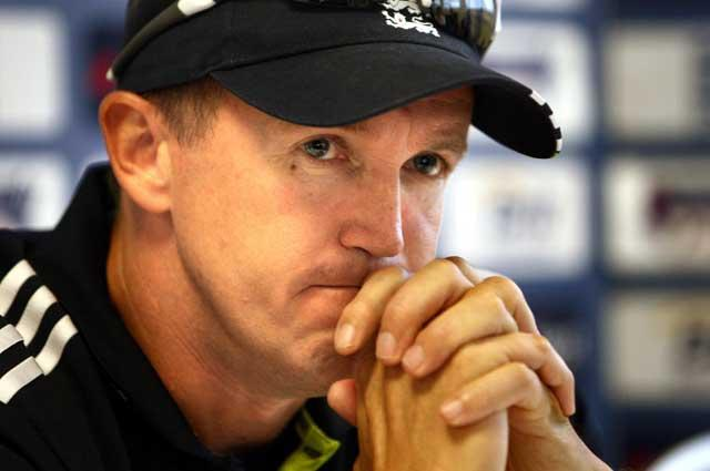 Fists of fury: It's really sad for the game. I hope they get to the bottom of it, says England coach Andy Flower