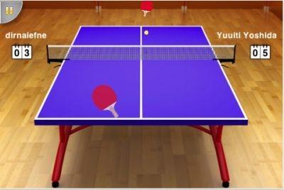 'Virtual Table Tennis' iPhone app