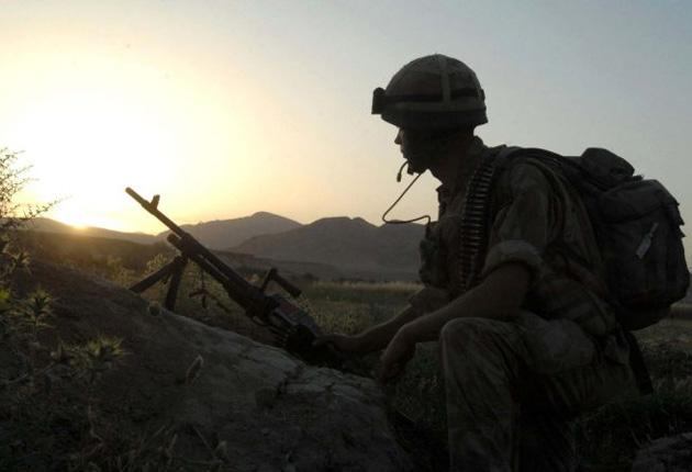 About 80 British soldiers travelled to Sangin to fight Taliban insurgents with the Afghan National Army (ANA), just months before it takes full control of security in the country.