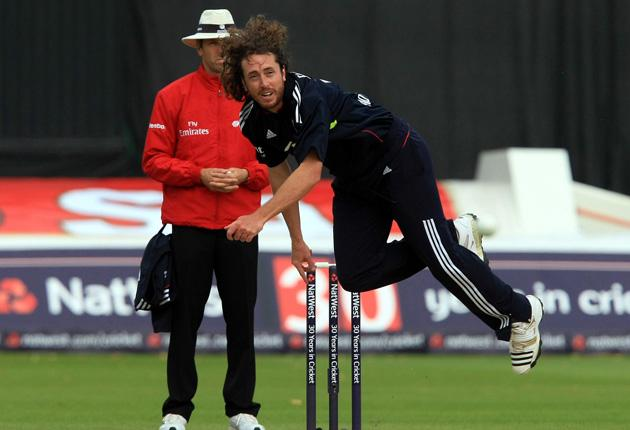 Ryan Sidebottom played his final England match earlier this month against Pakistan at Cardiff