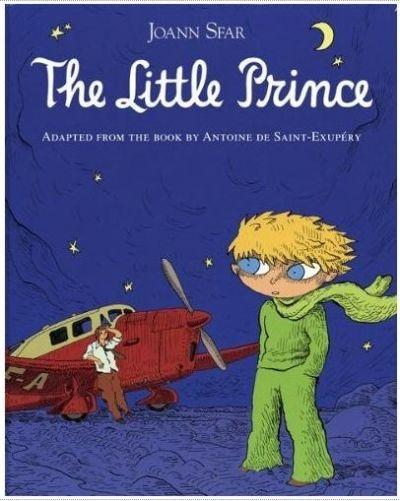 Joann Sfar's adaptation of 'The Little Prince' will be available in English in October.