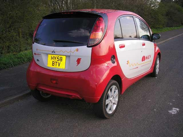 Zingy performer: The Mitsubishi i-MiEV is one of the best of the emerging crop of electric cars from the big manufacturers
