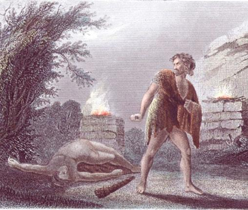 Sibling rivalry, Biblical style: as with Cain and Abel, family relationships can be dangerous