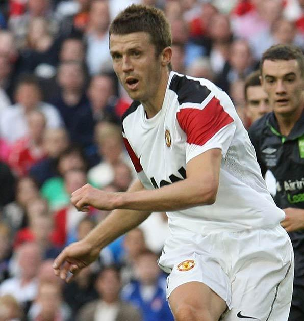 Carrick is likely to play a part in Valencia