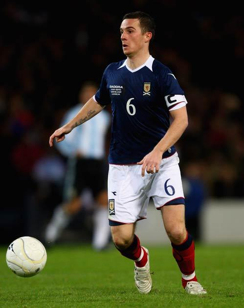 Ferguson once captained the Scotland side