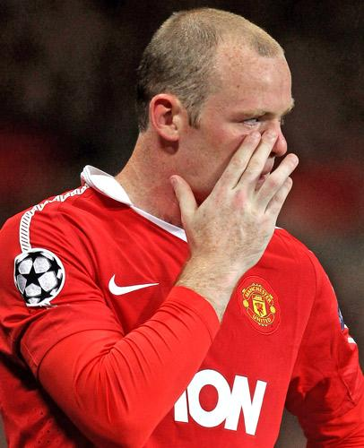 Wayne Rooney has been short of form and goals for Manchester United this season