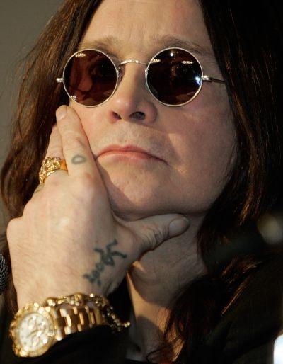 Former Black Sabbath member, British hard rock musician Ozzy Osbourne