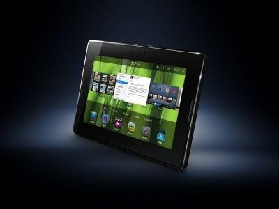 RIM's BlackBerry PlayBook - side view