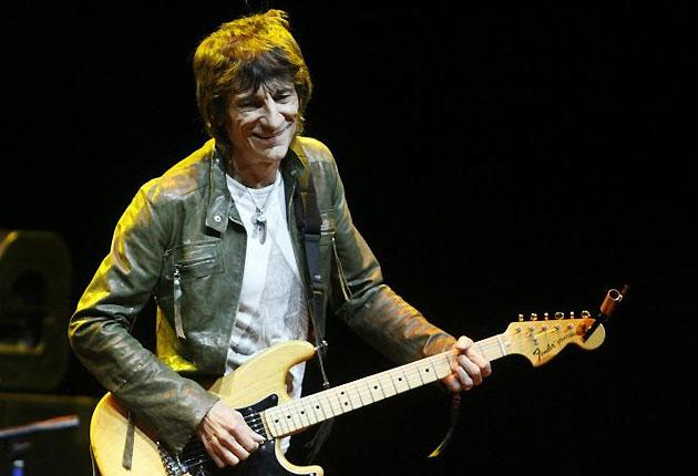 """Rolling Stones guitarist Ronnie Wood said he had benefited from """"a lot of good support"""""""