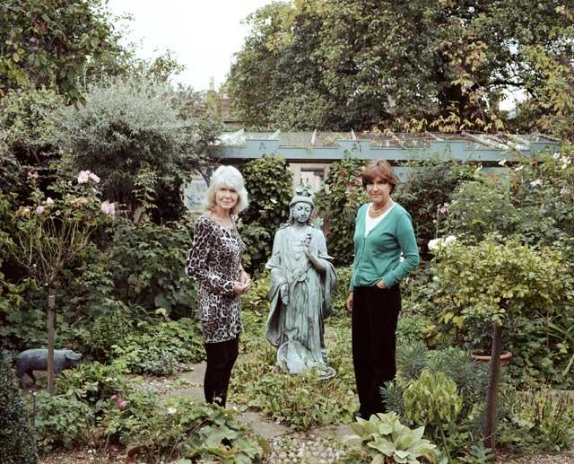 'Common' ancestry: Cooper (left) based her novel 'The Common Years' on the years she spent in Putney with Dimbleby
