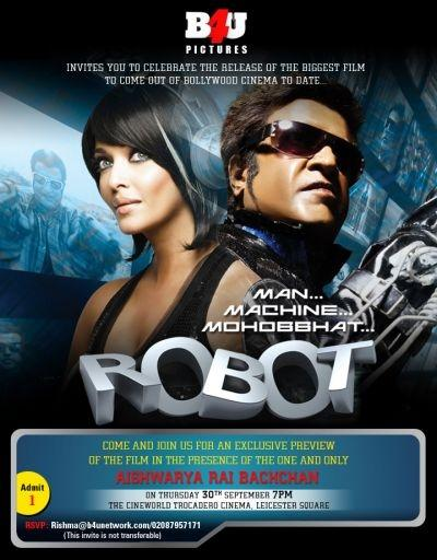 'Robot' movie poster