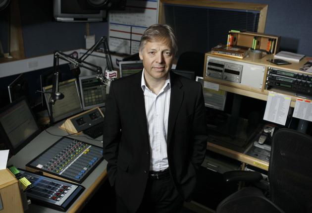 Easy Listening: Radio presenter Mark Goodier, who has been signed up to Smooth FM