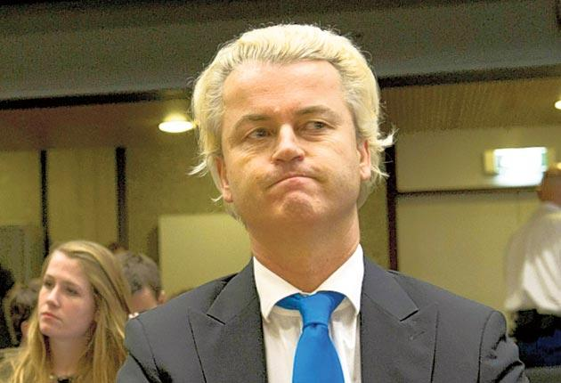 The Dutch anti-Islamic MP Geert Wilders accused the judges of bias, causing the trial to be adjourned