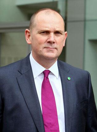 Jim Gamble has been praised for his work with the child protection body