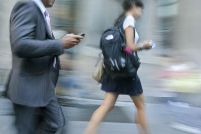 Mobile devices could be powered by kinetic energy say researchers.
