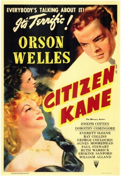 'Citizen Kane' directed by Orson Welles