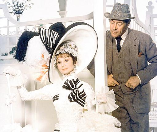 Learning to talk proper: Professor Henry Higgins (with Eliza Doolittle in the musical 'My Fair Lady') believed that anyone could be taught to speak English correctly