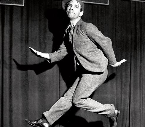 When Brian Viner interviewed Sir Norman Wisdom, the comedian - who died this week - gave him a personal masterclass in slapstick