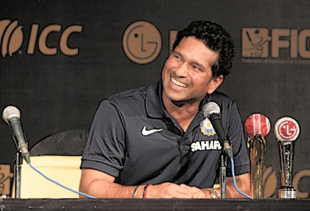Sachin Tendulkar won the International Cricket Council Cricketer of the Year prize