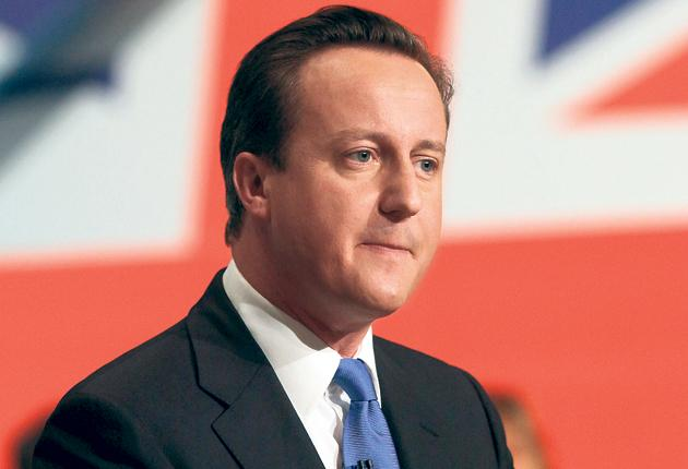 David Cameron sets out his vision for the future at the Conservative conference in Birmingham