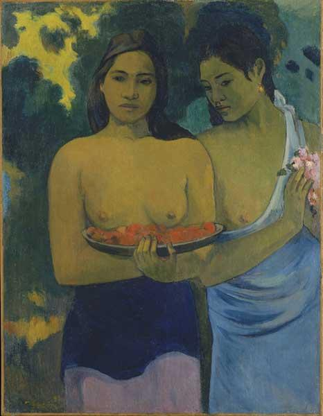 Myth and marketing: Paul Gauguin's 'Two Tahitian Women', currently on show at Tate Modern
