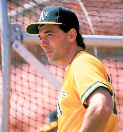 Billy Beane, the Oakland Athletics' general manager, when a player with the club in 1989