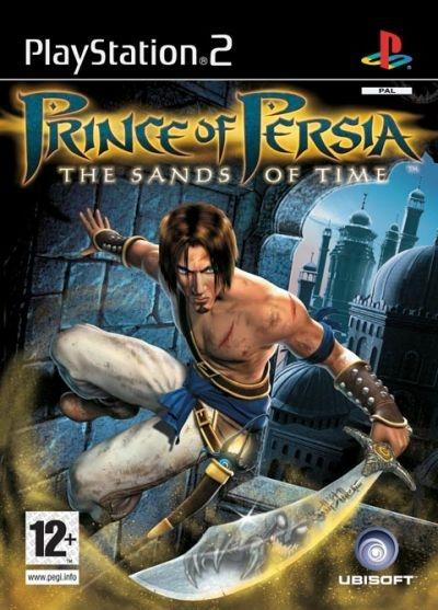 'Prince of Persia: The Sands of Time' video game cover - PlayStation 2, EU version
