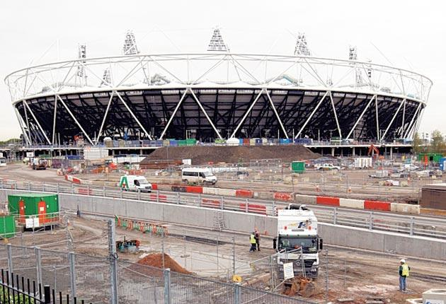 West Ham are hoping to move into the Olympic Stadium at Stratford after the London 2012 Games