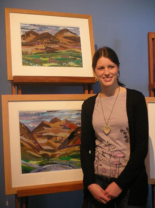 'It's very exciting, and I've been quite surprised that I've already sold three pictures, and I only put them up on Friday,' says Josie Russell