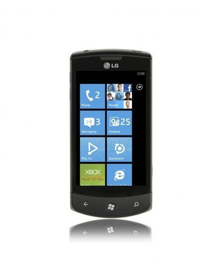 LG Optimus Windows Phone 7