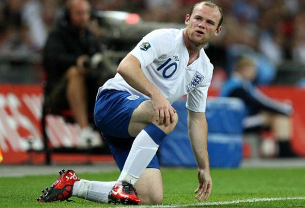 Wayne Rooney has struggled for club and country this term while Montenegro's Mirko Vucinic has thrived
