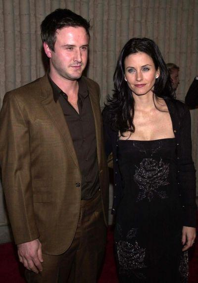 Husband and wife actors David Arquette and Courtney Cox-Arquette