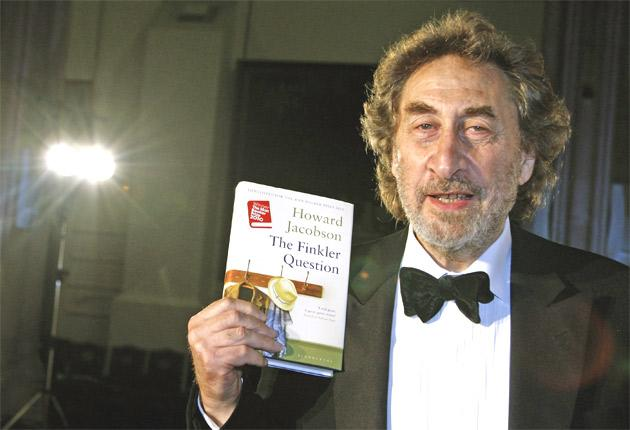Howard Jacobson with 'The Finkler Question'