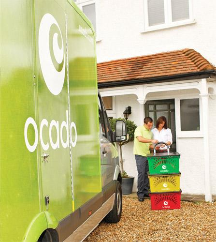 Ocado hopes to be able to reach 85 per cent of UK households after a new distribution depot is opened